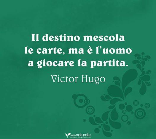 Il destino - V.Hugo