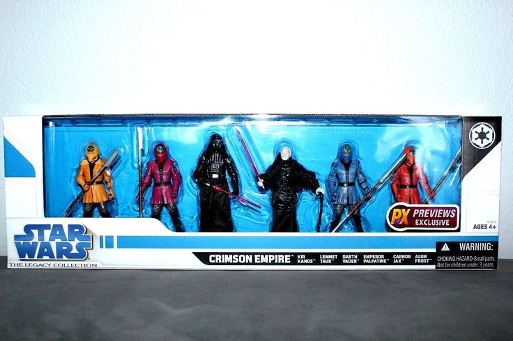 DARTH VADER ACTION FIGURE STAR WARS CRIMSON EMPIRE SET LEGACY COLLECTION