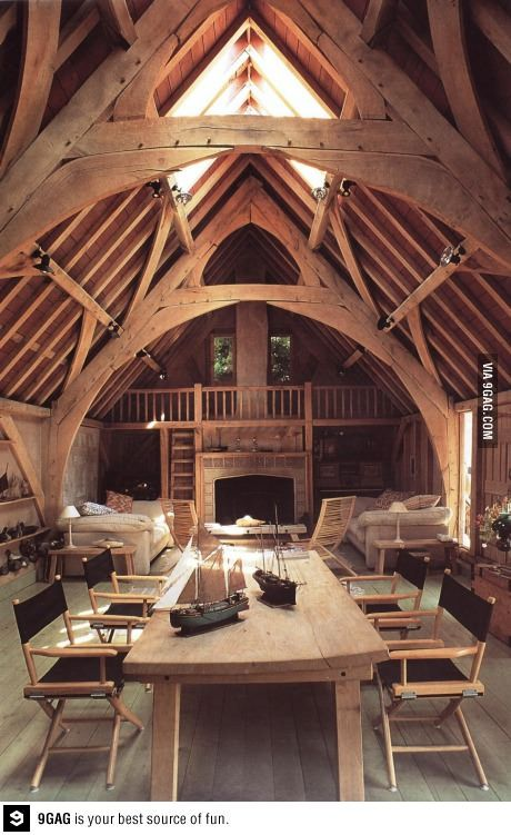 The way a cabin should look.