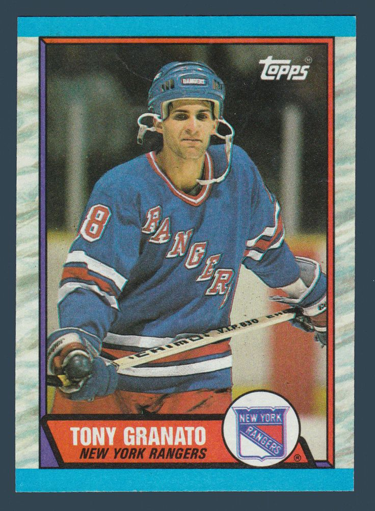 Tony Granato RC # 161 - 1989-90 Topps Hockey NHL Rookie