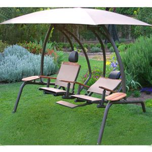 Sunset Swings 422sb Dual Recliner Outdoor Hammock Patio