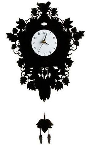 Modern version of a cuckoo clock