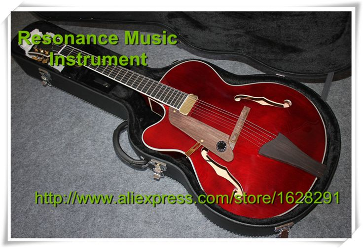 New Arrival G L5 Guitar Hollow Body Left handed Jazz Electric Guitarra with Hard Case Shipping Together #Affiliate