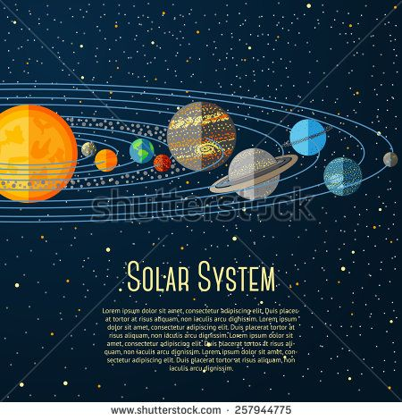Stock Images similar to ID 254882347 - set of universe infographics ...