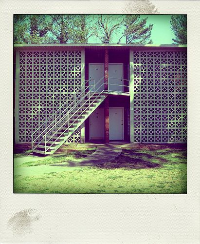 Breeze blocks.  Repinned by Secret Design Studio, Melbourne.  www.secretdesignstudio.com