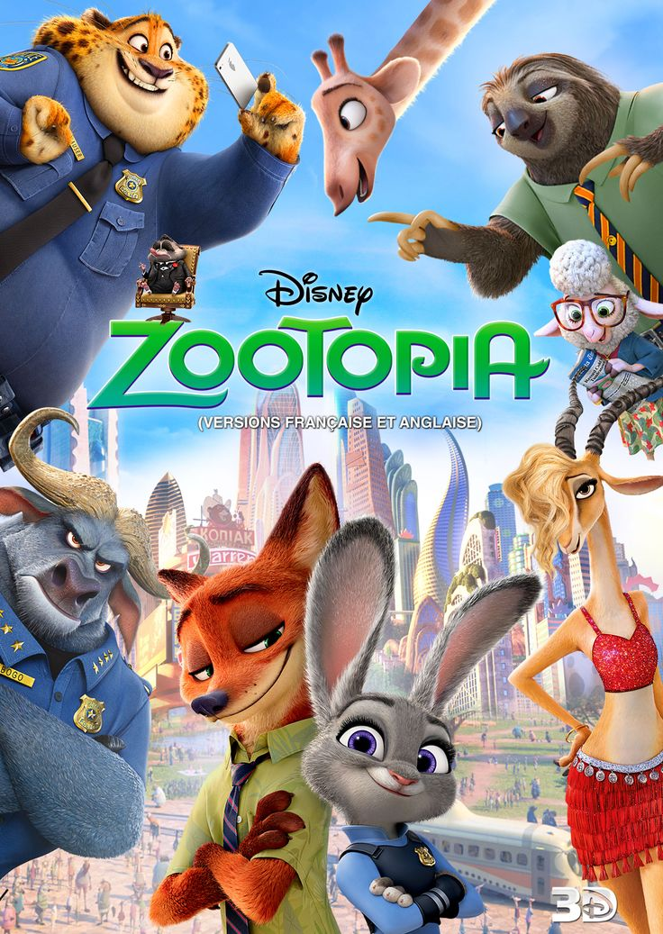 It's the movie every-bunny is talking about. Bring Disney's Zootopia home TODAY: http://movies.disney.com/zootopia