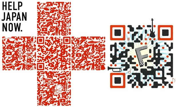 Designed QR codes: the next level | Webdesigner Depot