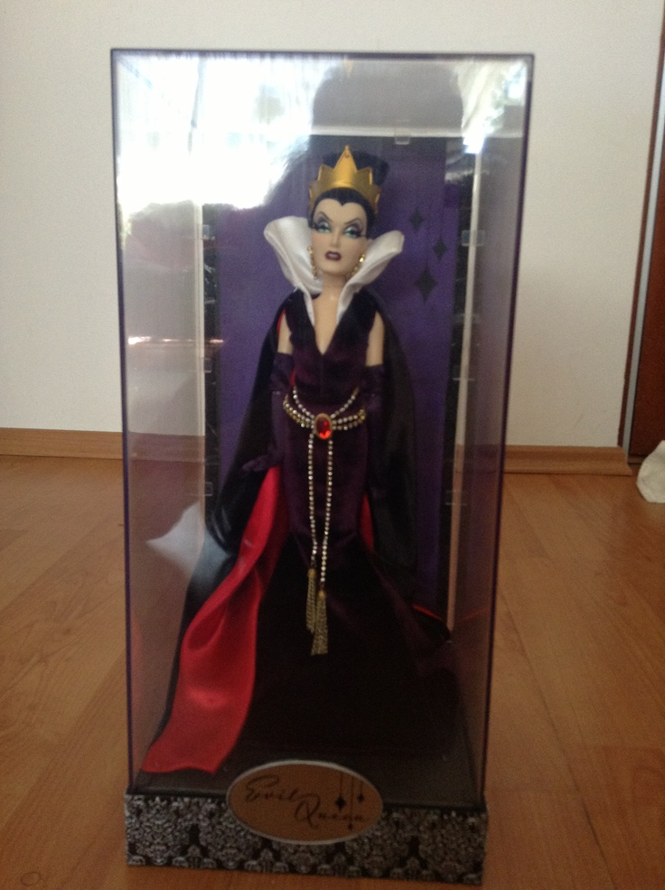 Evil Queen!!! My cousin got it when he went to New York last October. She is gourgeous!!! Her dress and updo are awesome,  the crown is just like the movie, and the make up WOW!!!