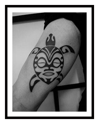 Downtown Buenos Aires Tattoo Studio: POLYNESIAN TURTLE TATTOO