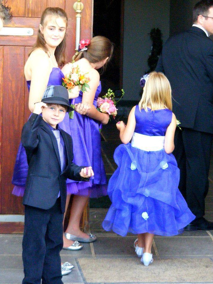 The flower girls and Declin