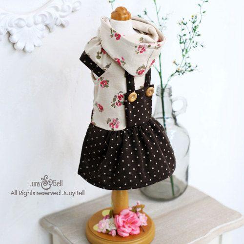 Hazel Designer Handmade Hoodies for Pets / Free Shipping