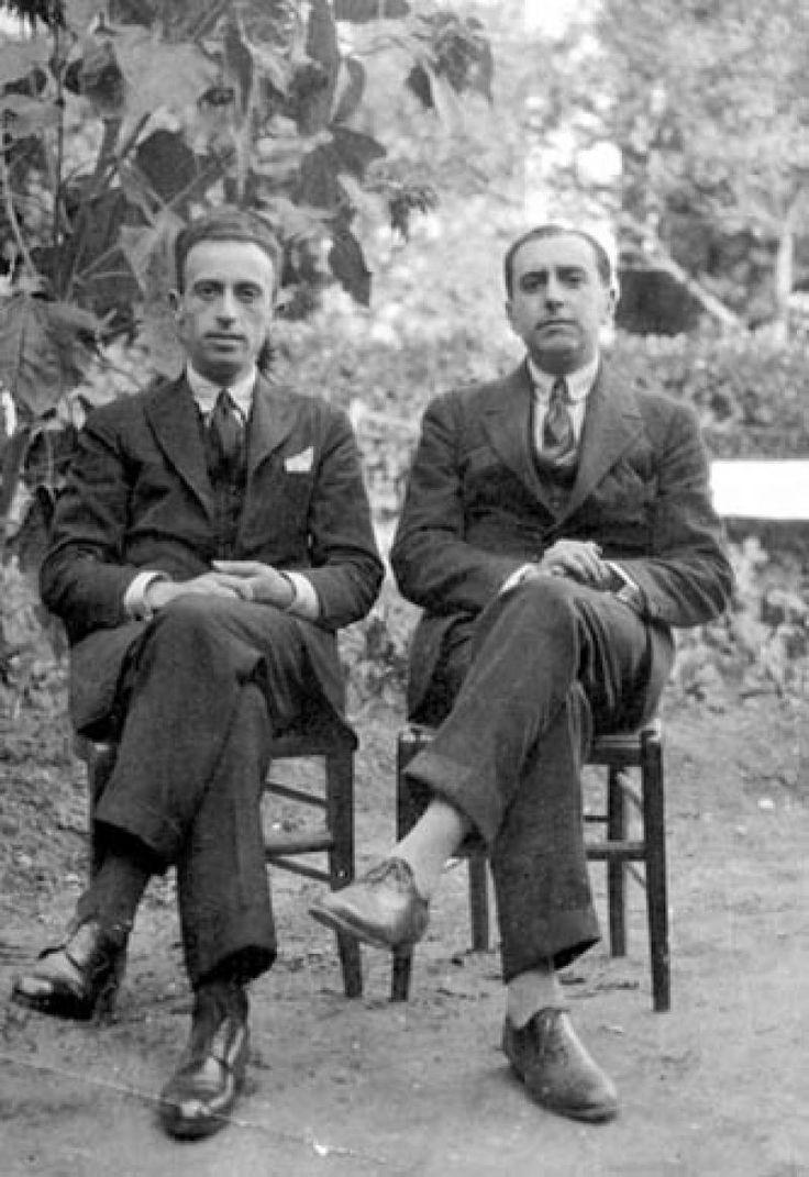 Vicente Huidobro y el poeta español Juan Larrea