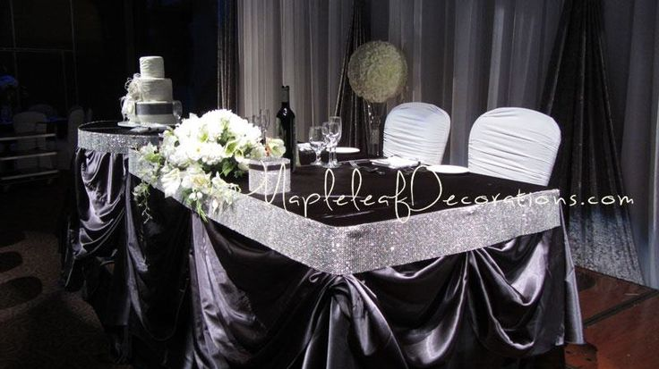 Wedding decorations custom modern simple backdrop and for Bling decor