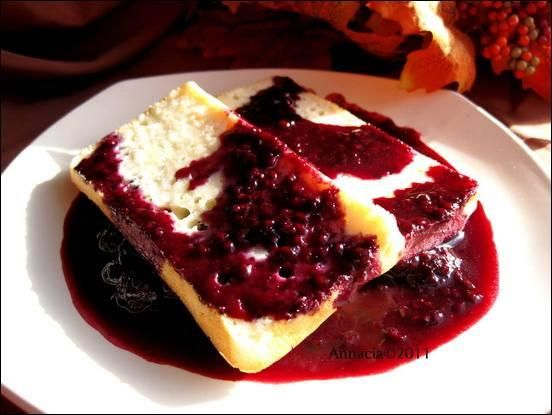 AMAZING berry compote. we put over angel food cake & ice cream - would be wonderful with anything though!