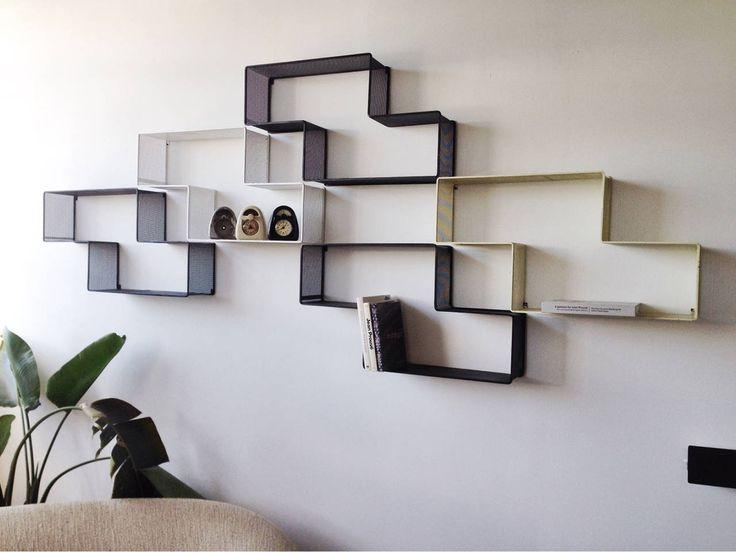 mathieu matgot set of modular dedal shelves