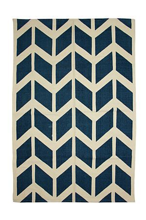 """Woven from 100% natural cotton with a geometric print, this rug can be used as a decorative addition to any room in your home. Available in 120x180cm.<div class=""""pdpDescContent""""><BR /><b class=""""pdpDesc"""">Dimensions:</b><BR />L180xW120 cm<BR /><BR /><b class=""""pdpDesc"""">Fabric Content:</b><BR />100% Cotton</div>"""