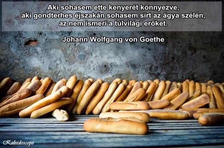 Goethe idézete a negatív érzelmekről. A kép forrása: Kaleidoscope # Facebook