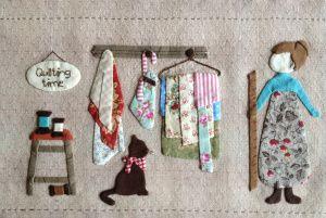 Part 1 of the Quilt Me Club 2014 by l'Atelier Perdu