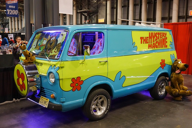 The mystery machine scooby doo things i voiture camionnette tim e - Scooby doo voiture ...