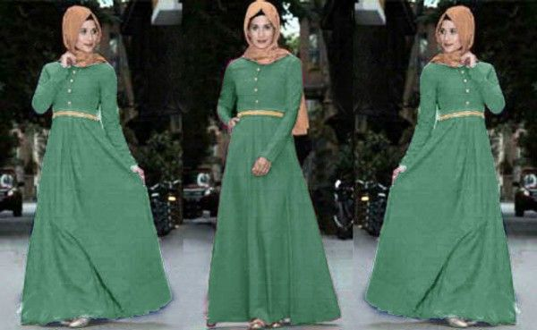 Baju Dress Muslim Terbaru Maxi Rosa Kl03 Tosca Baju