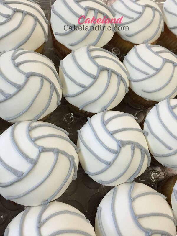 Volleyball cupcakes                                                                                                                                                                                 More