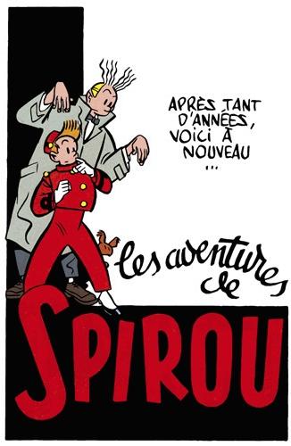 Les Aventures de Spirou & Fantasio par Yves Chaland.