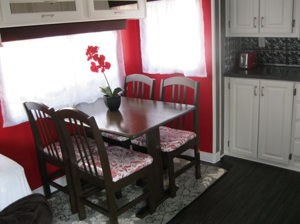 Kitchen Table Design Decorating Ideas Hgtv Pictures: Camper Remodel - Other Space
