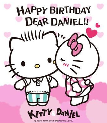 Awhhh Hello Kitty And Dear Daniel Make The Cutest Couple Dont You Agree