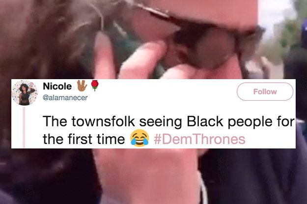 21 Hilarious Game Of Thrones Reactions From Black Twitter Game Of Thrones Reaction Funny Memes Hilarious