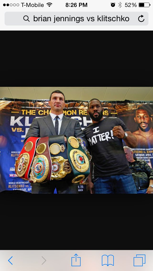 Rightnow on HBO!!! heavyweight Championship! klitschko 63-3 (53 ko's) vs Jennings 19-0 (klitschko has been the heavyweight champ for over 8 years! Meaning nobody on the planet can beat him in almost a decade)  #NFL #MLB #NHL #NBA #NCAAB #NCAAF #LasVegas #Football #Basketball #Baseball #Hockey #SBA  #Business #Entrepreneur #Investing    #Dj  #Networking #Analytics #HipHop #MYTH7  #TBE #sportsbetting  #AtlanticCity  #Bet #Boxing