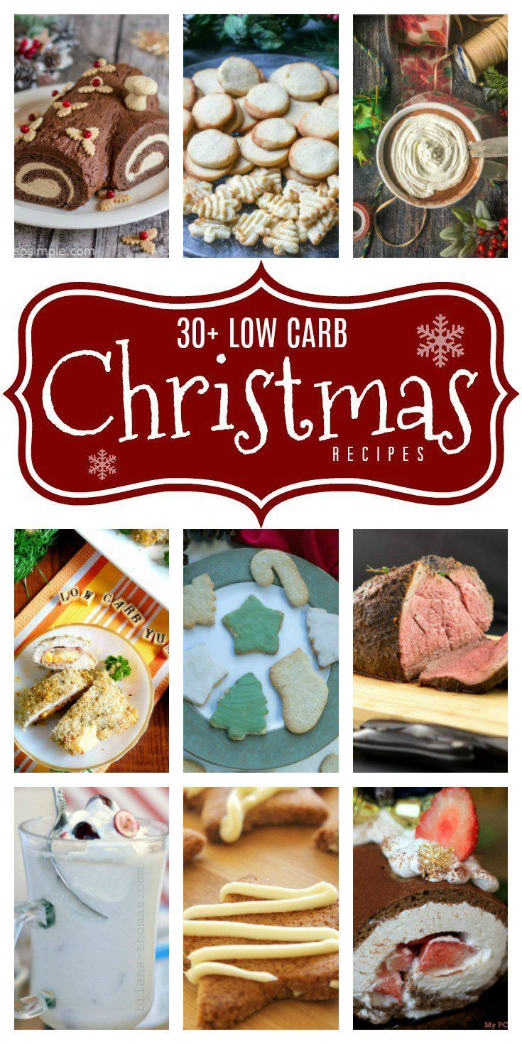 Keto Low Carb Christmas Recipes you may want to make all year long! #keto #ketorecipes #LowCarb #atkins