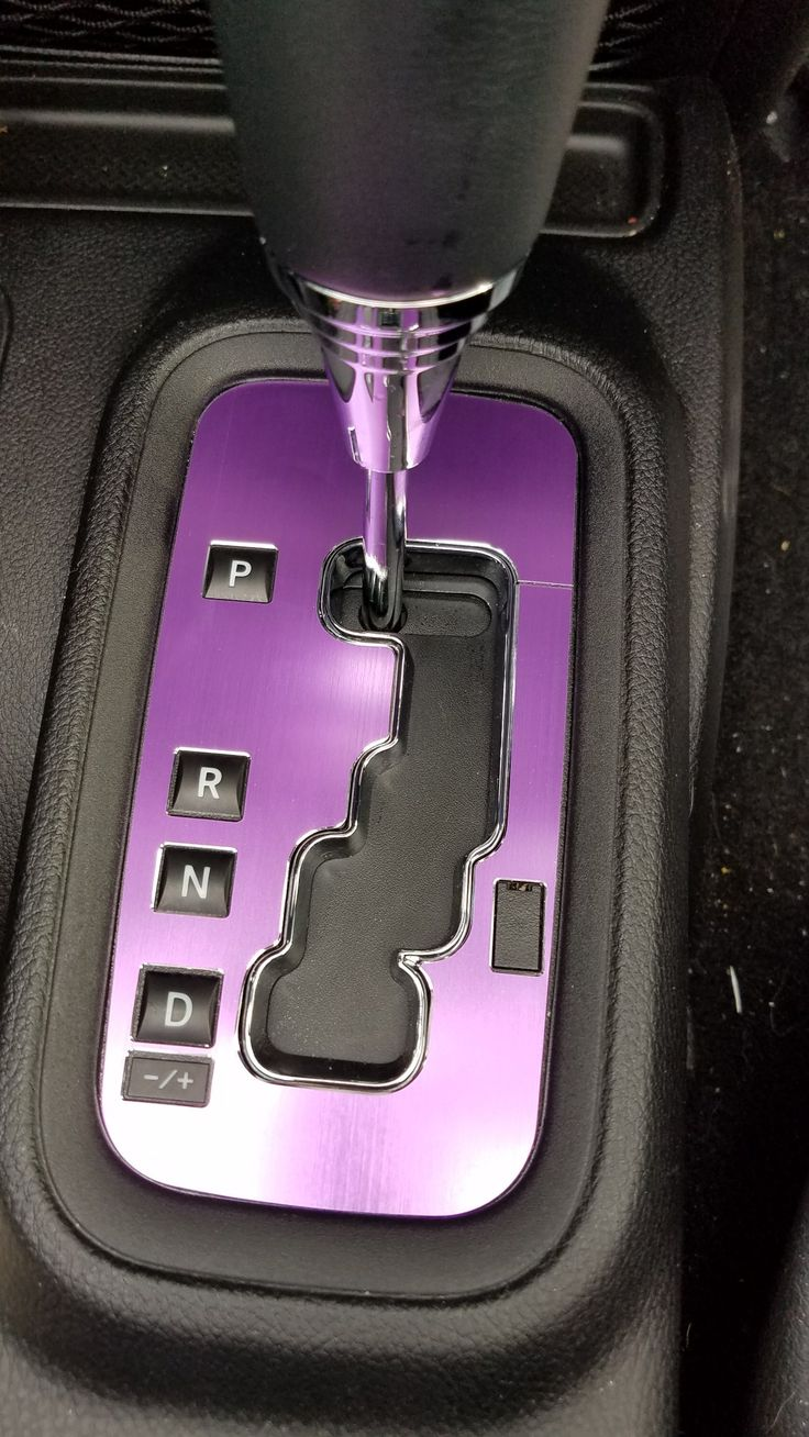 Jeep Wrangler Purple shifter cover. Bought on Amazon.