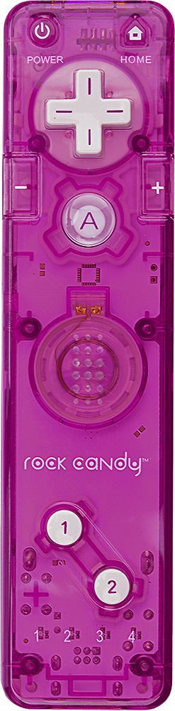 PDP - Rock Candy Controller for Nintendo Wii - Pink
