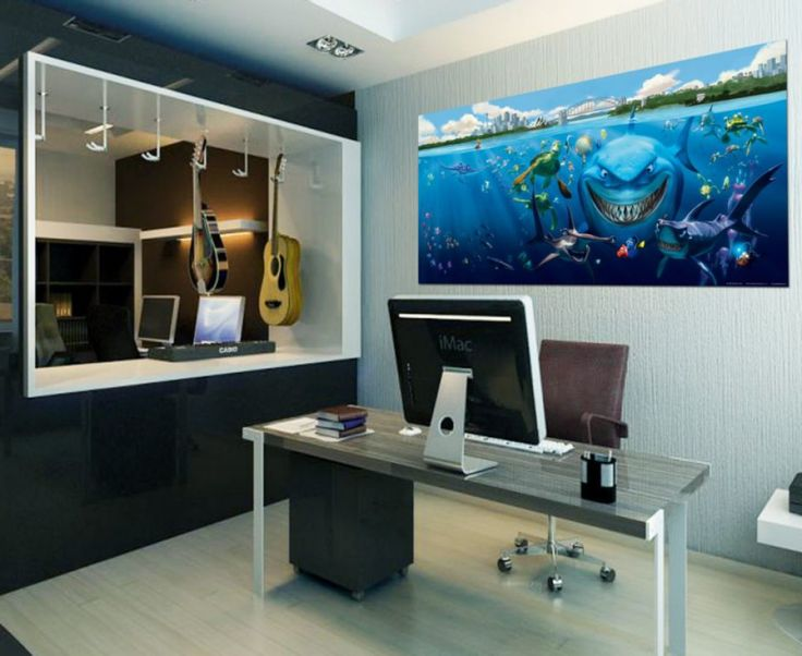 Beautiful Finding Nemo Wall Mural By WallandMore! Great For Children Room.  Itu0027s Time To Turn Your Childu0027s Space Into A Room Of Wonder, Color And  Beauty. Part 22