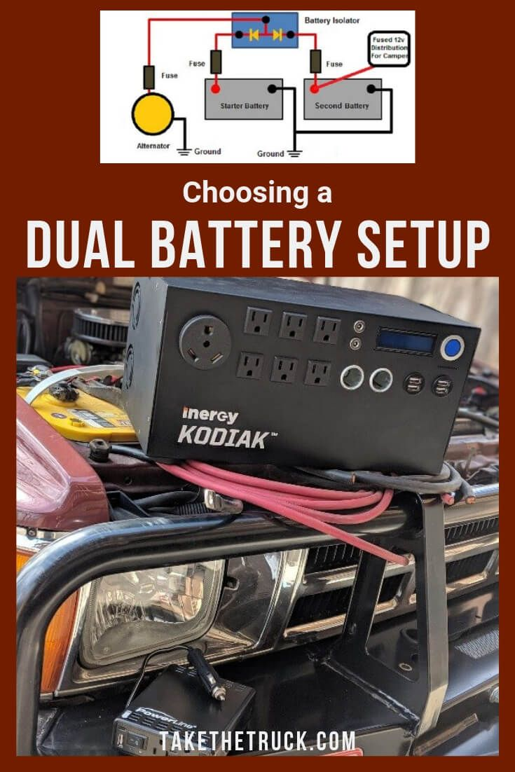 How To Choose The Best Dual Battery Setup Take The Truck Dual Battery Setup Truck Camping Diy Camper