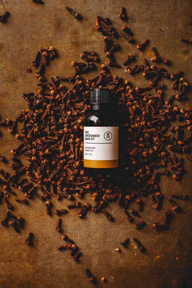 Cloves Off Beard Oil. Our new packaging for The Groomed Man Co. Beard Oil! Pin it if you like it! By @glockenpop   www.thegroomedmanco.com  #beard #beardoil #australia #thegroomedmanco