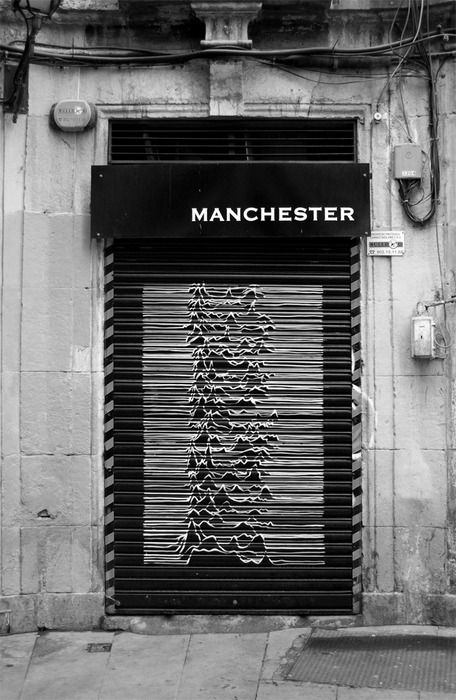 Unknown pleasures within. Joy Division.