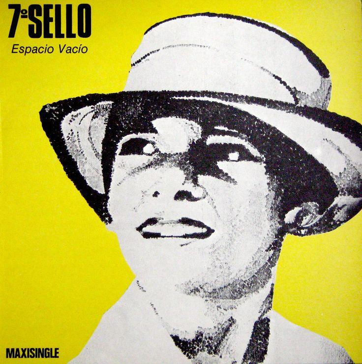 Septimo sello - Espacio vacio (1985) frontal #portadavinilo #covervinyl #maxisingle #12inch #maxi #vinilo #vinyl #portada #cover #albumcover
