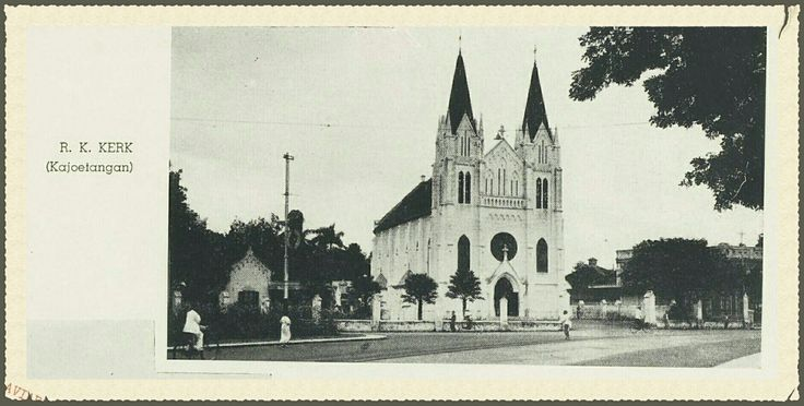 R.K. Kerk Kajoetangan Malanv voor 1939.