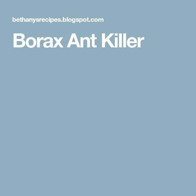 Borax Ant Killer