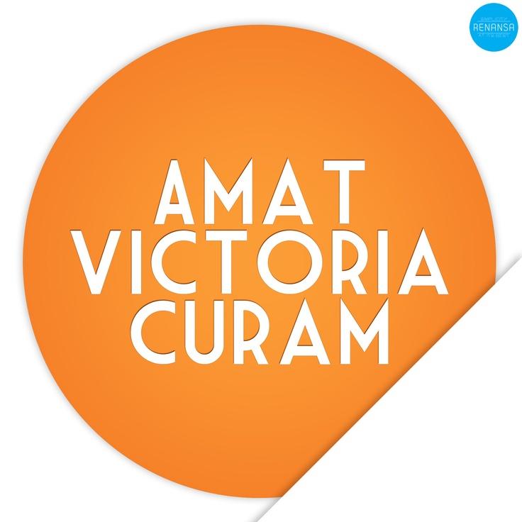 Amat Victoria Curam