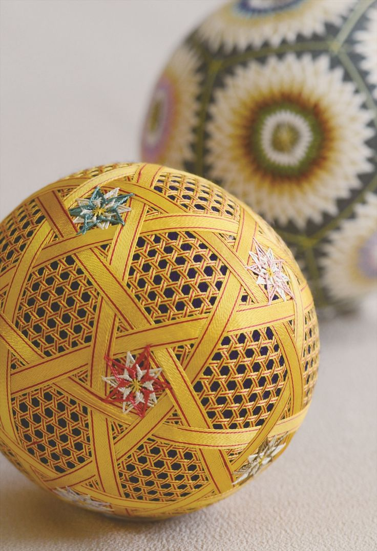 Temari Balls ... てまり絵はがき 7