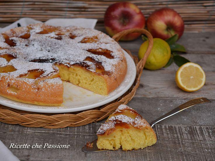 Torta di mele in padella, una ricetta semplicissima per preparare una deliziosa torta con le mele senza forno, con una semplice padella antiaderente.