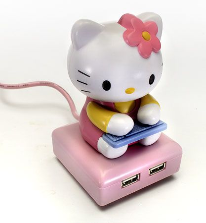 DreamKitty Hello Kitty USB Hub - i have this!!!!!