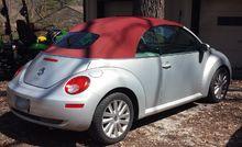Volkswagen New Beetle blush convertible
