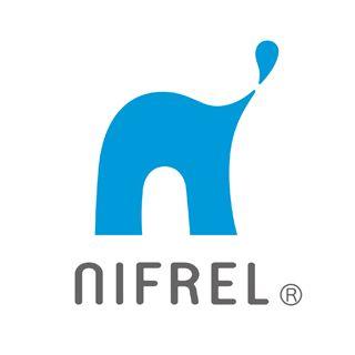 ニフレルのロゴ:感触のあるロゴ | ロゴストック