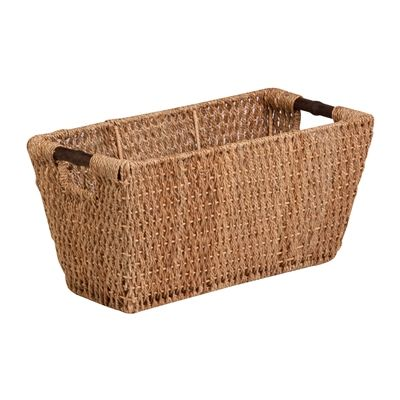 Honey Can Do STO-02966 Large Seagrass Basket with Handles