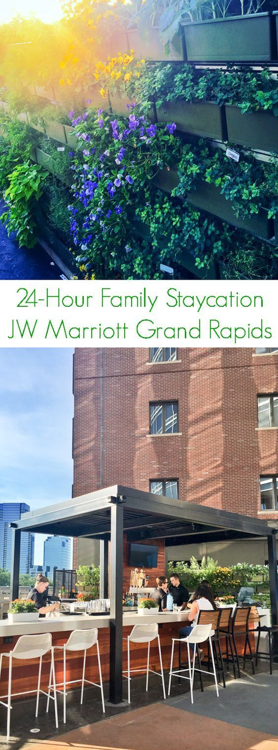 24-Hour Family Staycation JW Marriott Grand Rapids - A recap of our family-friendly staycation downtown at the JW Marriott Grand Rapids.