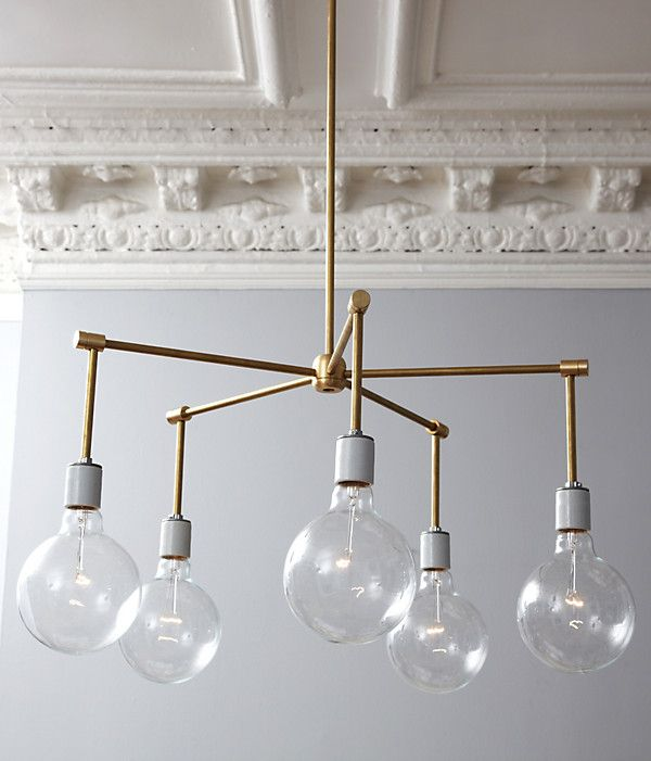 Brass is huge in home decor trends. What a great idea for a modern meets art deco or victorian look.  Check out the blog post for complete instructions and a step-by-step tutorial with pictures. Simply elegant!