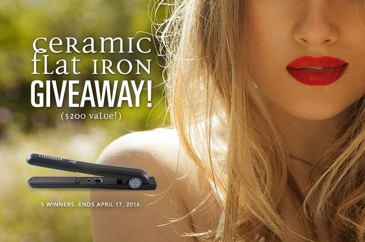 Enter for a chance to win a flat iron with ceramic plates. To participate, complete at least one entry option using the widget below. Be sure to login so your entry is counted. You will receive a confirmation email once…
